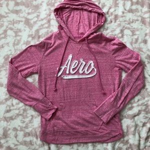 Aeropostale Long Sleeve T-shirt with hoodie